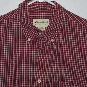 Eddie bauer dress mens shirt size L J1071